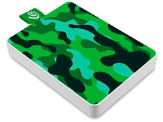Жесткий диск Seagate One Touch SSD Special Edition 500Gb STJE500407 Green