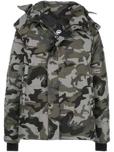 Canada Goose куртка Wyndham с камуфляжным принтом
