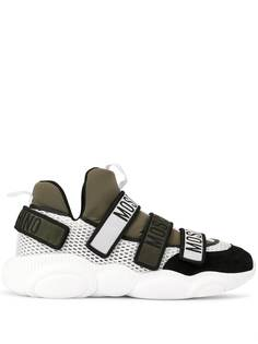 Moschino multi strapped sneakers
