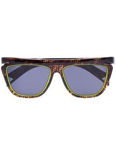 Fendi солнцезащитные очки с логотипом FF