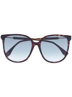 Fendi солнцезащитные очки черепаховой расцветки