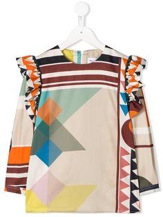 Wolf & Rita блузка с геометричным принтом