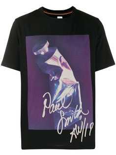 Paul Smith футболка с принтом