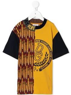 Dolce & Gabbana Kids футболка с принтом