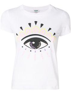 Kenzo футболка с принтом Eye