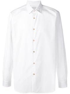 Paul Smith приталенная рубашка с длинными рукавами