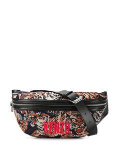 Kenzo жаккардовая поясная сумка Flying Tiger