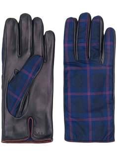 Paul Smith клетчатые перчатки
