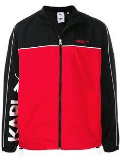 Puma куртка с контрастной вставкой