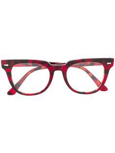 Ray-Ban очки в квадратной оправе черепаховой расцветки