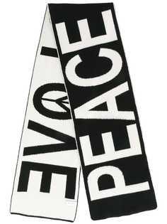 Paul Smith шарф с контрастным принтом