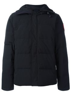 Canada Goose стеганая куртка-пуховик с капюшоном