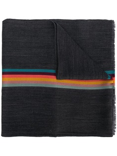 Paul Smith stripe detail scarf