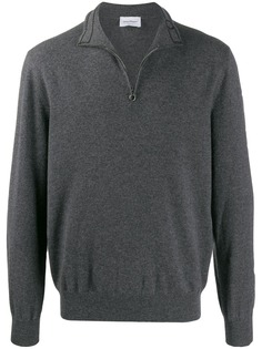 Salvatore Ferragamo roll neck zipped sweater