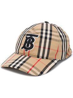 Burberry бейсболка в клетку