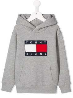 Tommy Hilfiger Junior худи с вышивкой