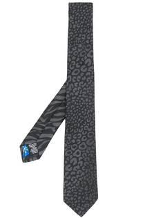 Paul Smith галстук с анималистичным принтом