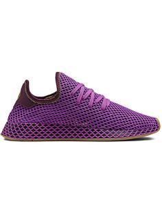 adidas сетчатые кроссовки на шнуровке