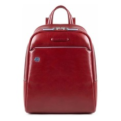 Рюкзак женский Piquadro Blue Square CA4233B2/R красный натур.кожа