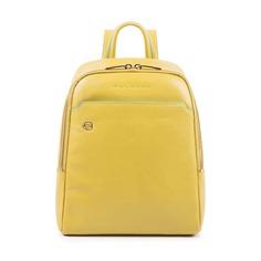 Рюкзак женский Piquadro Blue Square CA4233B2/G5 желтый натур.кожа