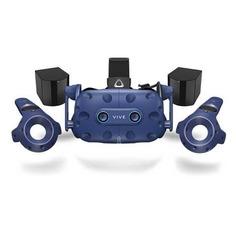 Очки виртуальной реальности HTC Vive PRO Eye EEA, черный/синий [99harj010-00]