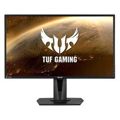 """Мониторы Монитор игровой ASUS TUF Gaming VG27BQ 27"""" темно-серый [90lm04z0-b01370]"""