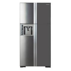 Холодильник HITACHI R-W 722 PU1 INX, двухкамерный, нержавеющая сталь