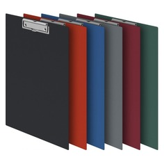 Папка-планшет Durable 4201-10 ПВХ серый прижим 35х23см 45 шт./кор.
