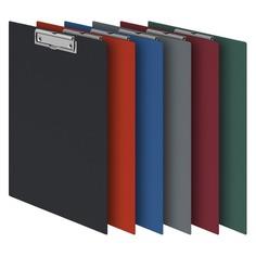 Папка-планшет Durable 4201-03 ПВХ красный прижим 35х23см 45 шт./кор.