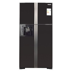 Холодильник HITACHI R-W 722 FPU1X GGR, двухкамерный, графитовое стекло