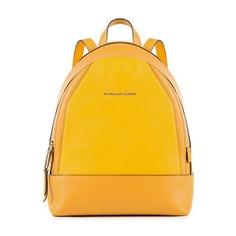 Рюкзак женский Piquadro Muse CA4327MUS/G желтый натур.кожа