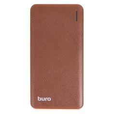 Внешний аккумулятор (Power Bank) BURO T4-10000, 10000мAч, черный