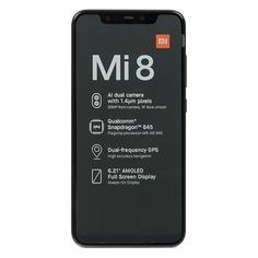 Смартфон XIAOMI Mi 8 64Gb, черный