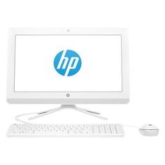 "Моноблок HP 20-c401ur, 19.5"", Intel Celeron J4005, 4Гб, 500Гб, Intel UHD Graphics 600, DVD-RW, Free DOS 2.0, белый [4gu78ea]"