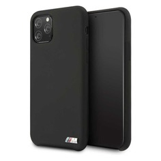 Чехол (клип-кейс) BMW Silicon case, для Apple iPhone 11 Pro Max, черный [bmhcn65msilbk] Noname
