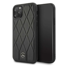 Чехол (клип-кейс) Mercedes Hard Case, для Apple iPhone 11 Pro Max, черный [mehcn65mulbk] Noname