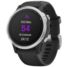 Спортивные часы Garmin Fenix 6S Silver/Black