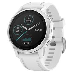 Спортивные часы Garmin Fenix 6S Silver/White