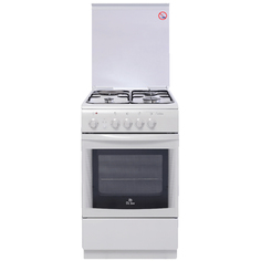 Комбинированная плита (50-55 см) De Luxe 506031.01ГЭ(КР)
