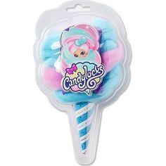 Коллекционная кукла Candylocks «Сахарная милашка» голубо-розовая 8 см