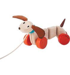 Каталка Plan Toys Счастливый Пес