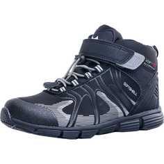 Ботинки Котофей, цвет: черный