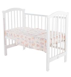 Комплект постельного белья Leader Kids Мишка с друзьями, цвет: бежевый