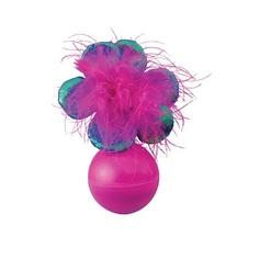 Игрушка для кошек KONG неваляшка цветок, 13 см