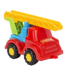 Машинка Полесье Пожарный Ромка красный