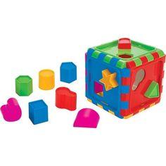 Сортер Pilsan Сборный куб Shape Sortet Cube