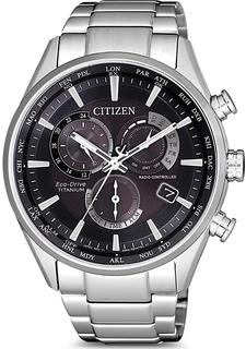Японские мужские часы в коллекции Eco-Drive Мужские часы Citizen CB5020-87E