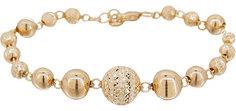 Золотые браслеты Браслеты Радуга 784A-brasl-r