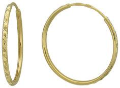 Золотые серьги Серьги Эстет 01S734818