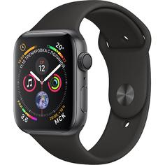 Умные часы Apple Watch Series 4 40 мм серый космос MU662RU/A